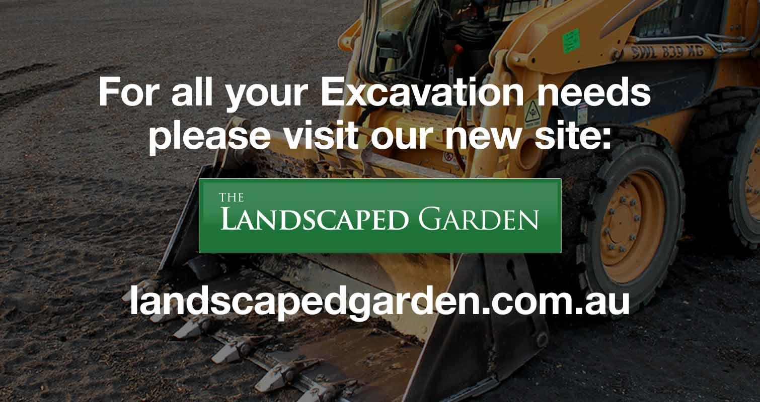 Excavation Landscaped Garden